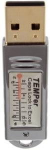 usb thermometer, pc temperatursensor, computer thermometer