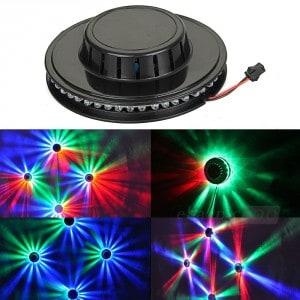led discobeleuchtung 48, discolicht, discoleuchte decke, deckenleuchte disco