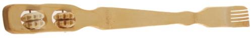 bambus rückenkratzer, bambus rückenroller, bambus rückenmassage