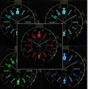 7 led farbwechsel uhr, armbanduhr farbwechsel