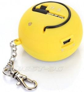 portabler lautsprecher schlüsselanhänger