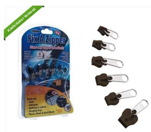 Fix a Zipper, gratis Versand, China, nur 2 Euro, 6 Stück, Reißverschluss selbst reparieren, Sonderangebot, bester Preis im Internet