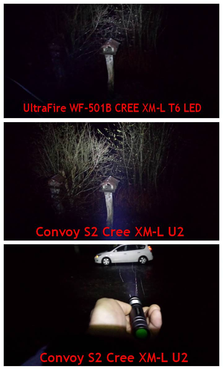 testbericht die convoy s2 mit cree xm l u2 led hat alles was man sich w nscht. Black Bedroom Furniture Sets. Home Design Ideas