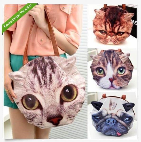 Mops Handtasche, Lustig Gadget, Mode, Trend, coole Handtaschen, bester Preis, Angebot