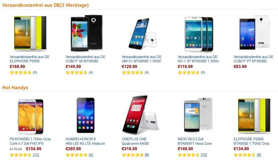 China smartphones g nstig aus deutschland jaaa Markise gunstig deutschland