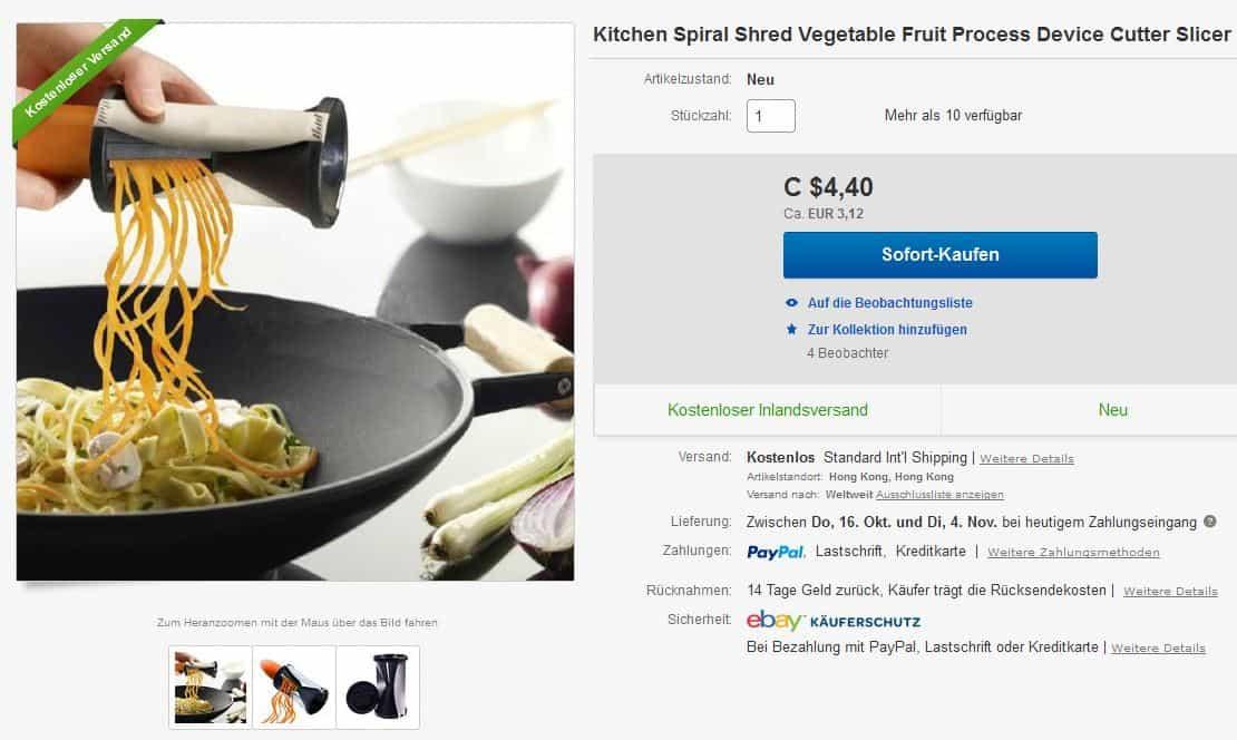 gem se spaghetti mit dem gadget selbst machen jetzt f r nur 3 11 euro gratis versand aus. Black Bedroom Furniture Sets. Home Design Ideas