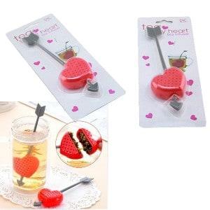 Tee Ei Herz, Silikon Tee-Ei, Teetrinker Gadget, Geschenkidee, Weihnachtsgeschenke günstig kaufen, Küche Tee Teeei, Gadgetwelt