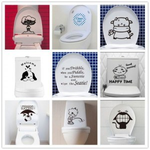 Spülkasten Sticker Monster, Klomonster, Monster Toilette, China, Versand gratis, Gadgets mega günstig kaufen, Gadgetwelt, Gadget China