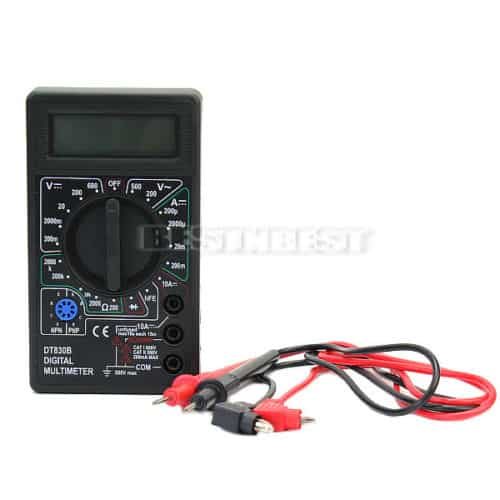 multimeter lcd f r nur 3 83 euro inkl versand. Black Bedroom Furniture Sets. Home Design Ideas