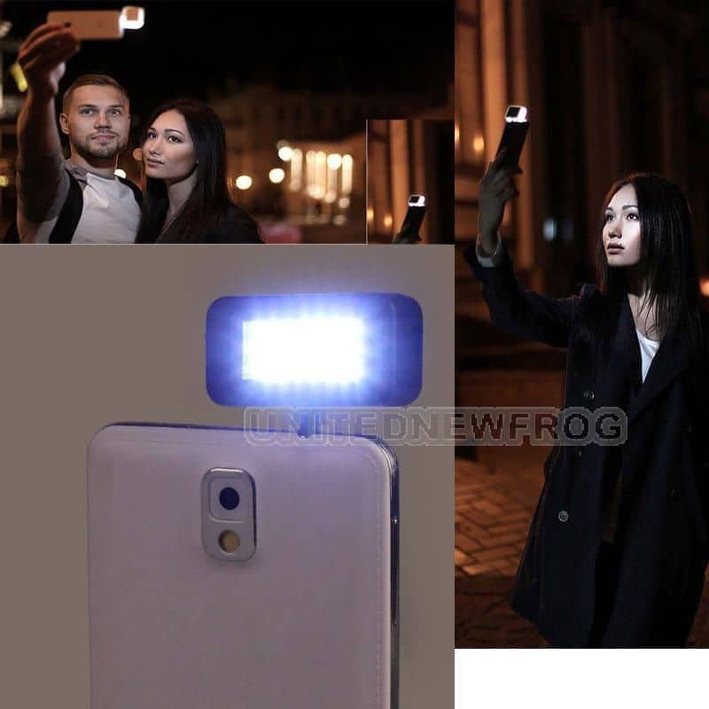 endlich die selfie led leuchte als gadget aus china. Black Bedroom Furniture Sets. Home Design Ideas