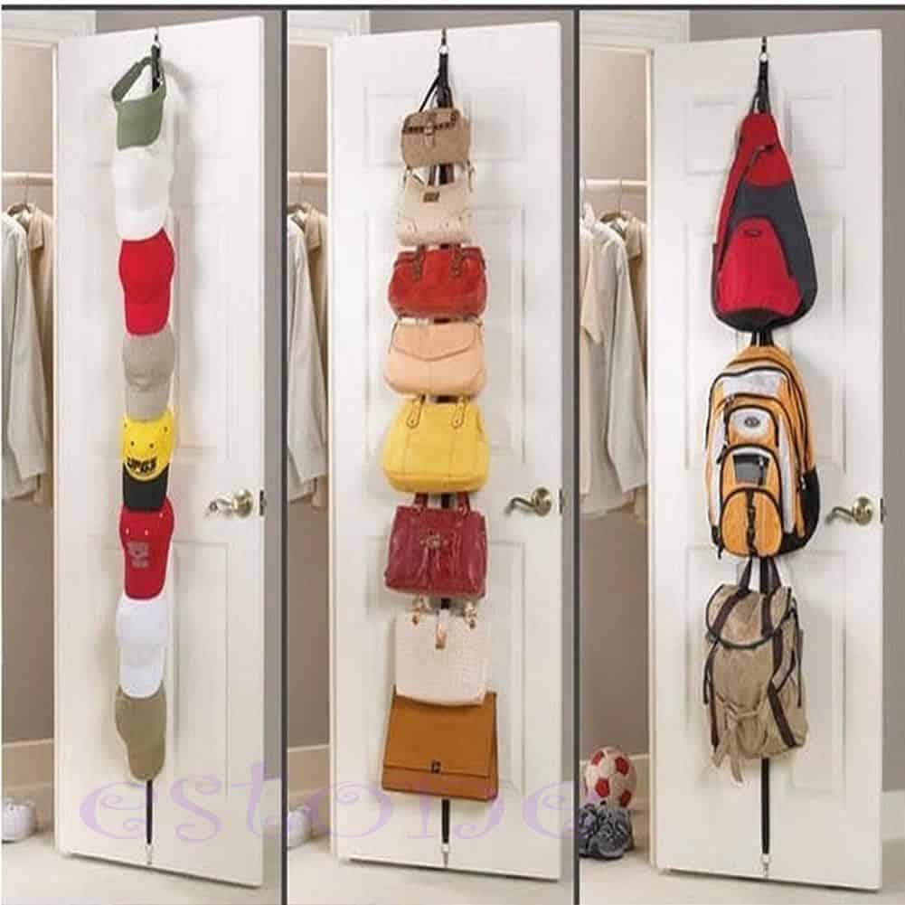 Gadget platz sparen handtaschen jacken kappen oder for Gancho perchero pared