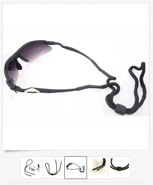 Sport Brille? Brillenkordel für Sonnenbrille für nur 42 Cent (gratis Versand) aus China!