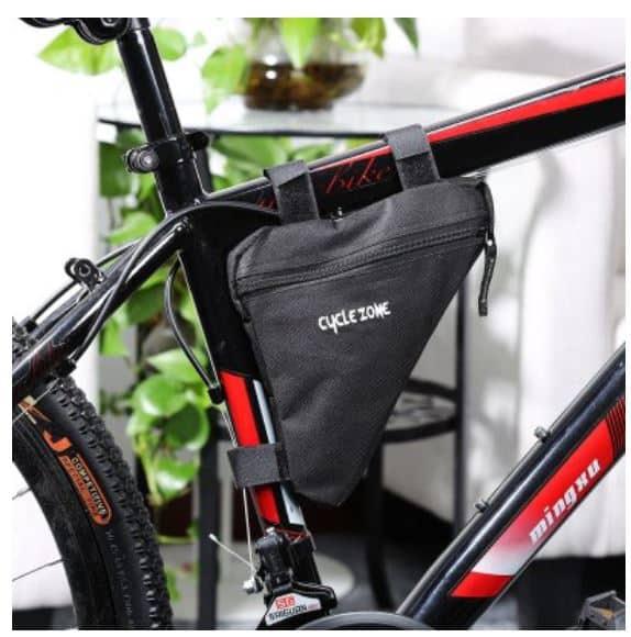 fahrrad und rahmentasche von cycle zone f r nur 2 56 euro inkl versand. Black Bedroom Furniture Sets. Home Design Ideas