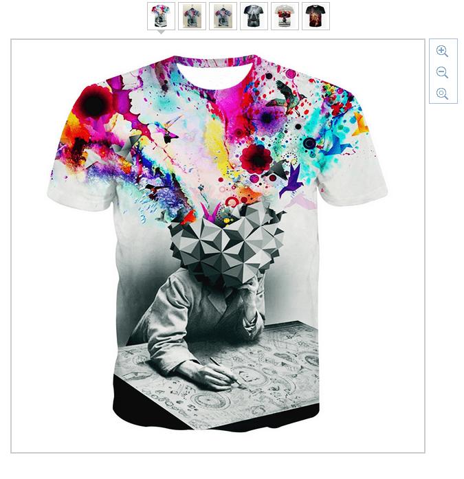 dc61f59be3 Verrückte T-Shirts ab 5,84 Euro (gratis Versand) beim Ali ...