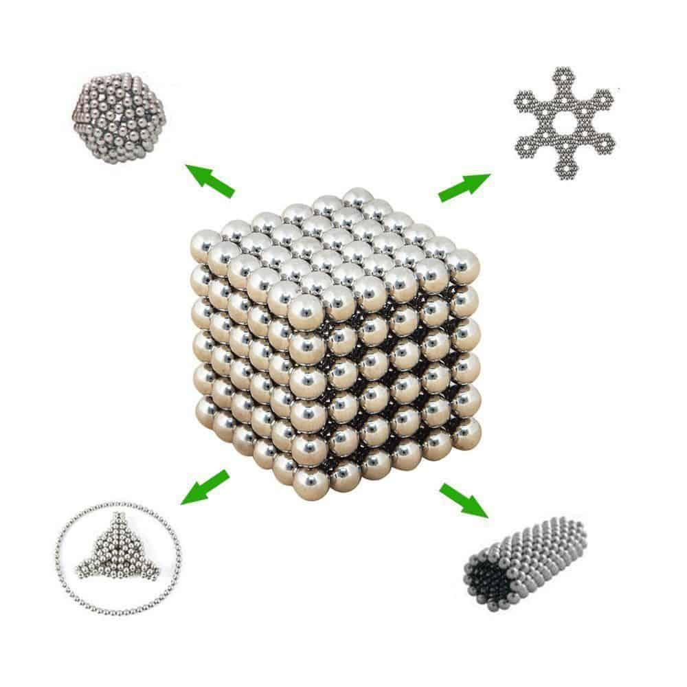 3 mm Neodym-Magnetkugeln (216 Stück) mit neuem Gutschein für 1,76 Euro bei Rosegal!
