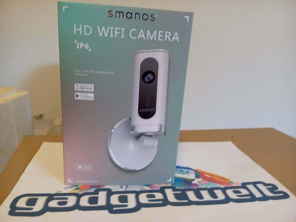 [ENDE!] Testbericht + Gewinnspiel! Smanos IP6 HD Überwachungskamera mit tollen Features im Wert von über 100 Euro!