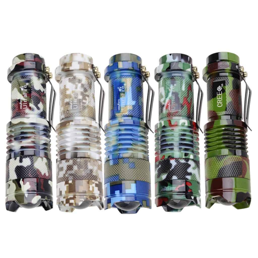 UltraFire Taschenlampe günstig, bester Preis Preissuchmaschine, Gadget Gadgets, China-Gadgets, Chinagadget , CREE Q5 LED Taschenlampe , günstig Angebot, tarn