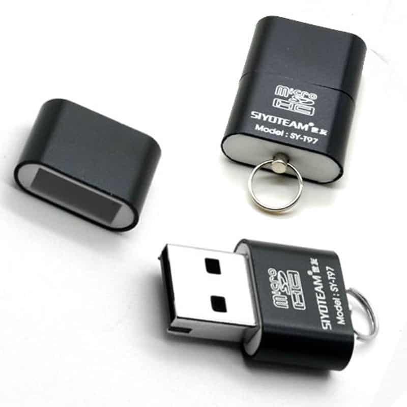 kleiner adapter micro sd auf usb f r den schl sselbund f r nur 66 cent gratis versand. Black Bedroom Furniture Sets. Home Design Ideas