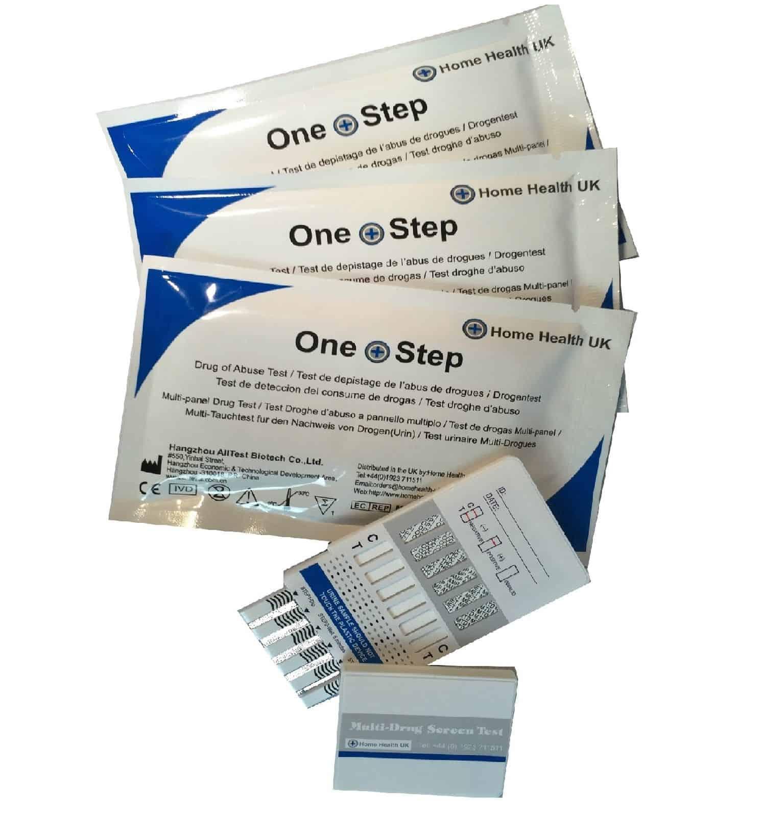 Multi-Drogentest (7 Substanzen) für rechnerisch nur 4,33 Euro inkl. Versand aus England!
