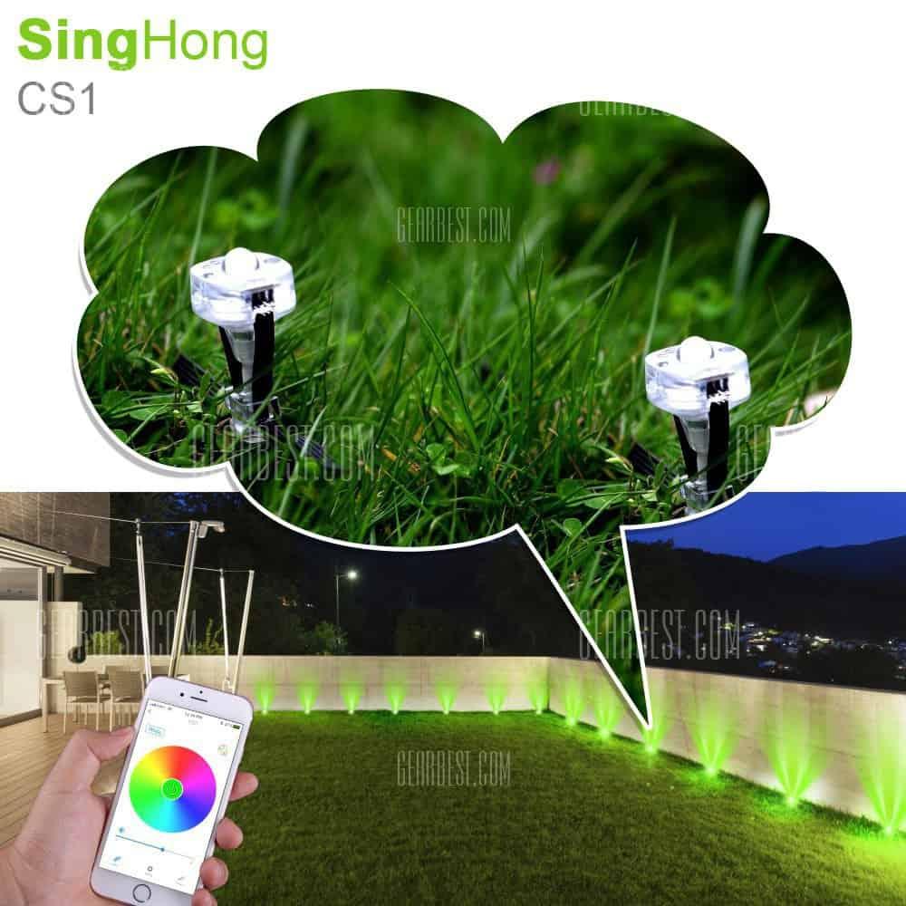 gearbest singhong cs1 ein sehr coole beleuchtung f r euren garten mit smartphone steuerung. Black Bedroom Furniture Sets. Home Design Ideas