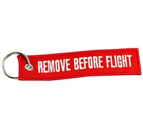 Remove Before Flight! Schlüsselanhänger für nur 67 Cent inkl. Versand!