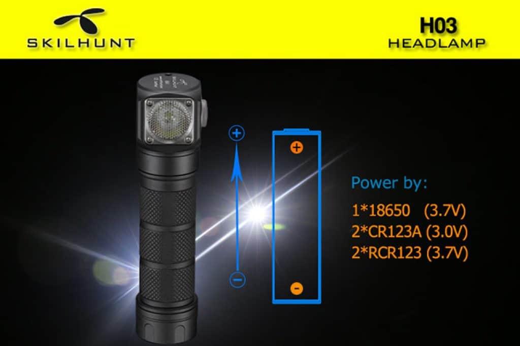 Skilhunt H03, Angebot Taschenlampe, Gearbest, Fenix Qualität