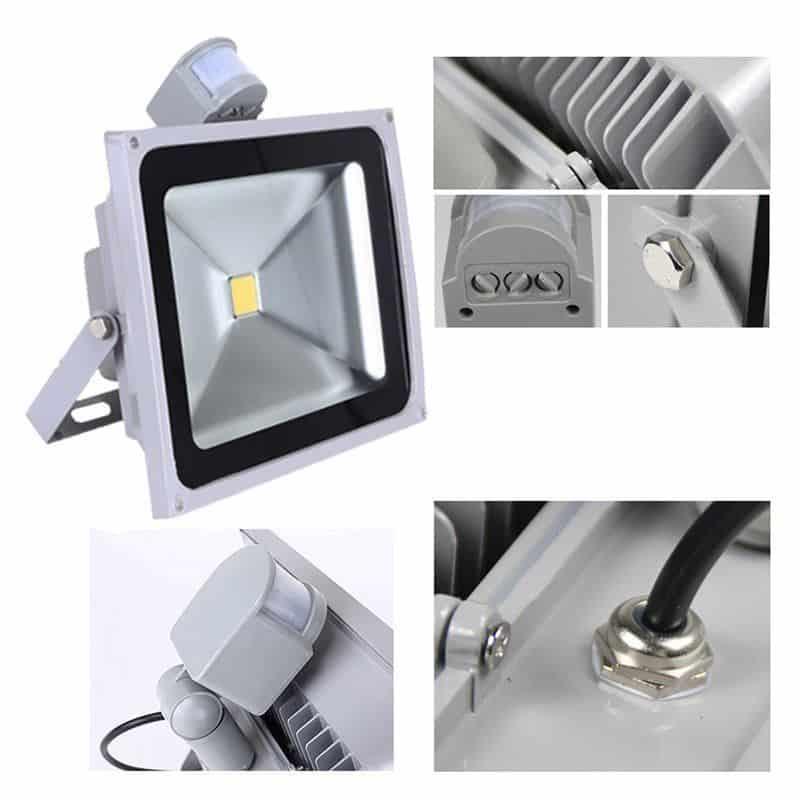50 Watt LED Flutlichtstrahler mit Bewegungsmelder für nur 18,99 Euro inkl. Versand aus Deutschland!