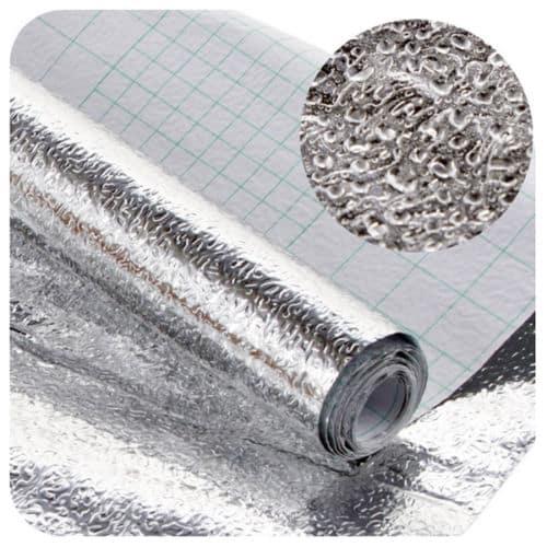 selbstklebende aluminiumfolie 200 x 40cm f r nur 2 28 euro kostenfreie lieferung. Black Bedroom Furniture Sets. Home Design Ideas