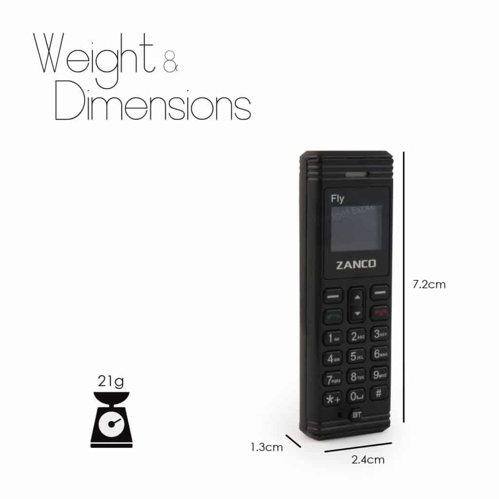 Zanco, The dot, kleinstes Handy der Welt, Gadget, mini Handy, Gadget