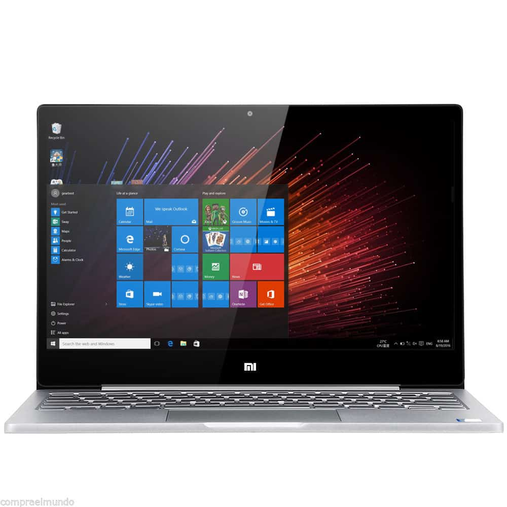 xiaomi air 12 notebook windows 10 intel core m3 6y30 12. Black Bedroom Furniture Sets. Home Design Ideas