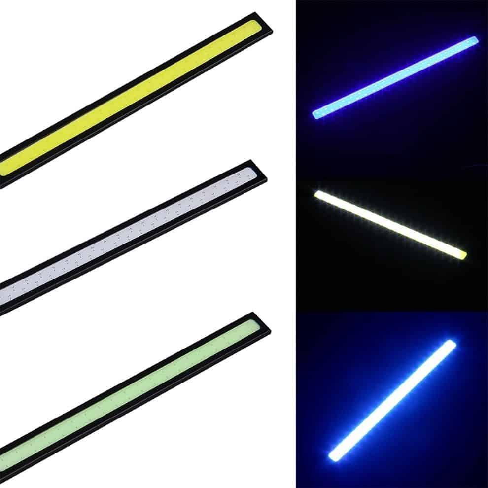 6w cob led streifen in verschiedene farben als doppelpack for Led deckenleuchte verschiedene farben