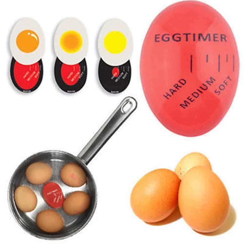 Die intelligente eieruhr wird mit den eiern gekocht mit - Eier platzen beim kochen ...