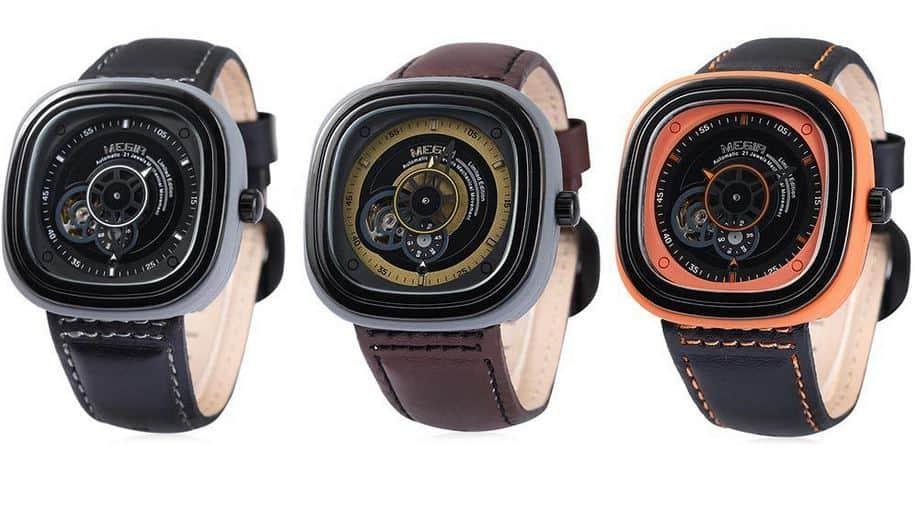 Gelungene automatische Uhr mit prominentem Vorbild? Die Megir M3012 im Angebot bei Gearbest!