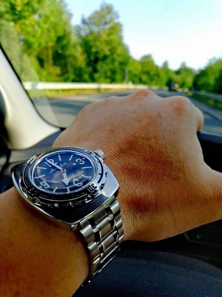 Eine robuste und wasserdichte Uhr mit automatischem Uhrwerk von Wostok / Vostok (Восток)!