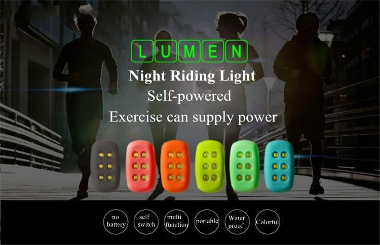 das kinetische jogger licht nie wieder batterien kaufen oder akku laden wasserdicht und. Black Bedroom Furniture Sets. Home Design Ideas