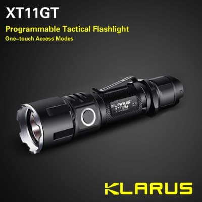 klarus xt11gt tactical led taschenlampe mit 2000 lumen aus cree xhp35 led dank gutschein f r nur. Black Bedroom Furniture Sets. Home Design Ideas