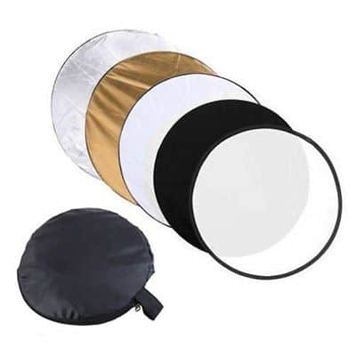 5 verschiedene fotostudio reflektoren mit 80cm durchmesser im set inkl tasche f r nur 8 75 euro. Black Bedroom Furniture Sets. Home Design Ideas