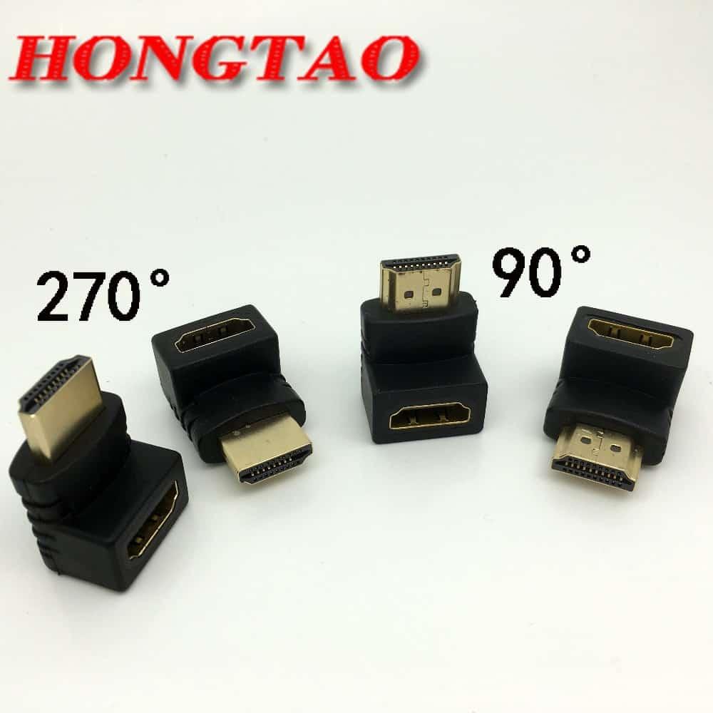 HDMI Winkel-Adapter 270° oder 90° ab nur 54 Cent inkl. Lieferung!