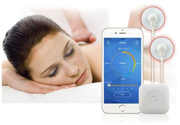 reizstrom massage ems mit steuerung per smartphone ios android. Black Bedroom Furniture Sets. Home Design Ideas