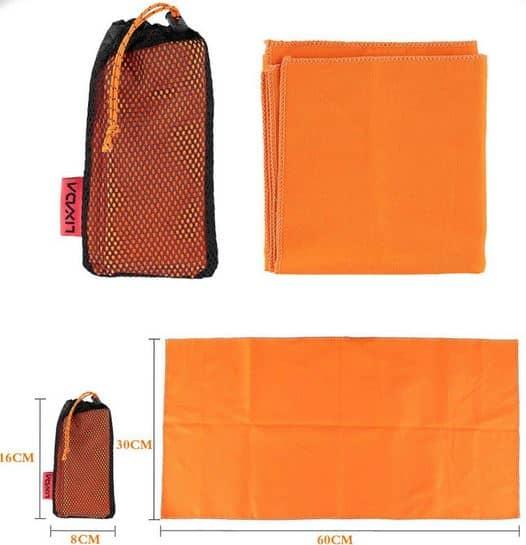 das outdoor handtuch von lixada ist saugstark leicht und. Black Bedroom Furniture Sets. Home Design Ideas