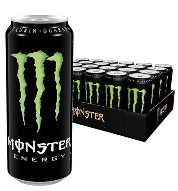 24x monster energy f r 20 40 euro pfand. Black Bedroom Furniture Sets. Home Design Ideas