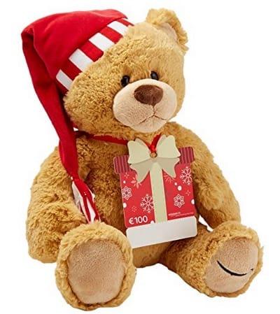 100,- Amazon-Geschenkgutschein mit Gratis-Teddybär