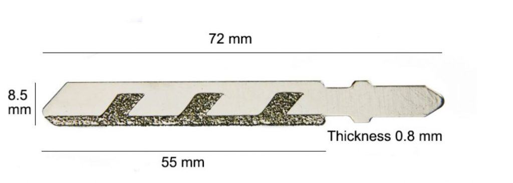 Diamant Sageblatt Fur Die Stichsage Fur Fliesen Keramik