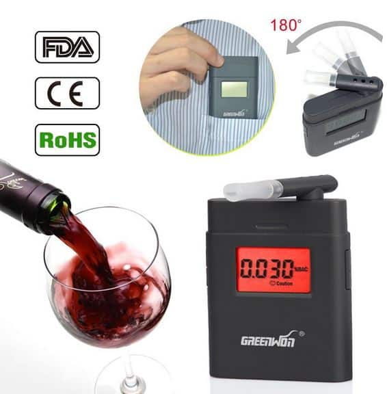 Alkoholtester AT-838 für nur 5,82 Euro inkl. Lieferung bei Aliexpress!