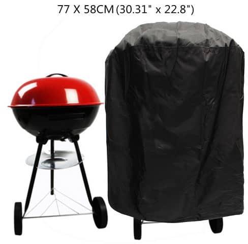 update bei banggood ab 5 84 euro abdeckhauben f r grills z b 77cm durchmesser ab nur 5 73. Black Bedroom Furniture Sets. Home Design Ideas