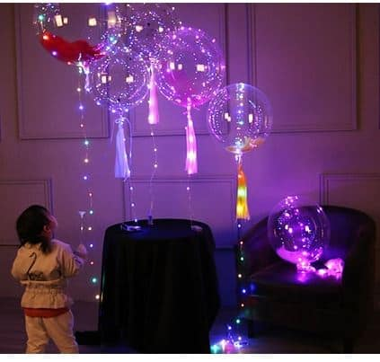 ** Update: Einzeln für 1,94 Euro ** 3er Pack LED Luftballons für nur 5,62 Euro im Flash Sale von Gearbest!