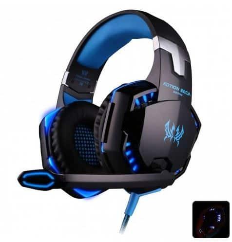 EACH G2000 Gaming-Kopfhörer mit Mikrofon dank Gutschein für nur 10,27 Euro bei Rosegal!