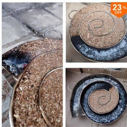 Fisch oder Fleisch räuchern? Rauchgenerator /Räucherspirale für 10,21 Euro!