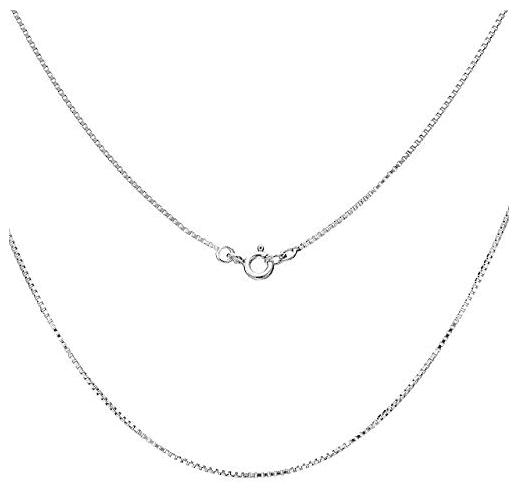 Damen-Halskette 925er Sterlingsilber 40cm