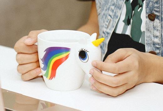 *** 3er Pack für nur 13,32 Euro bei Gearbest!! *** Einhorn Tasse mit Farbwechsel? Der Kaffeebecher für echte Unicorn Fans!